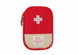 China Emergency Mini Car Medical Travel First Aid Kit / Rescue Kit With Medical Supplies on sale