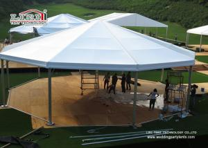 Quality Luxury Outdoor Event Tents 1500 People , Arcum Glass Wall Tent for sale