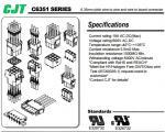 Nylon66,MOLEX/TE  Equivalent goods(42021,42022,350428,350942series),6.35mm pitch,Waterproof connector--CJT connectors