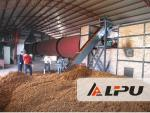 Bagasse Apple Pineapple Orange Fruit Residue Rotary Dryers 80-500 tons per Day
