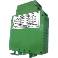China WAYJUN 3000VDC isolation DC current/voltage Conditioners(two in two out) Green DIN35 signal converter on sale