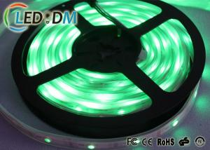 China Magic Color Digital Individually Addressable RGB Led Strip 5050 WS2811 Chip Controlled on sale