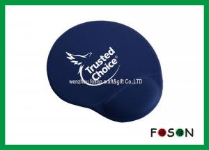 China Cool Printed Oval Neoprene Gel Wrist Mouse Pad , Gaming Mouse Mats on sale