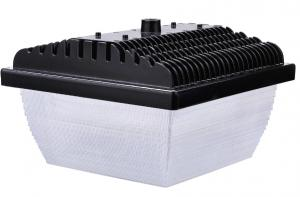 China White 60w LED Parking Garage Lighting Cover with  Chips , 3000-8000K on sale
