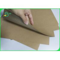 Customized Size Kraft Liner Paper Recycled Pulp Material For Shopping Bag , Label