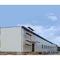 Prefab Large Long span steel roof structure warehouse building construction with Q345B steel