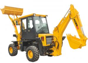 China Easy Operate Mini Backhoe Loader 1200 kg Rated Load For Tractor CE Approved on sale