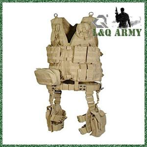 China Military MOLLE Ultimate Tactical Gear 10-piece Complete Vest Kit on sale