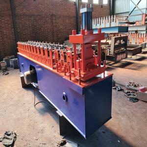 China Hydraulic Automatic Rolling Shutter Machine , Galvanized Steel Slat Shutter Door Machine on sale