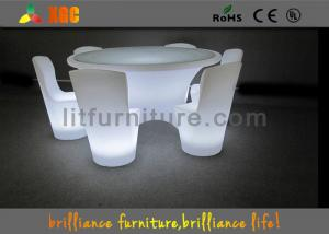 China Illuminated Banquet Tables Led Lighting Furniture For Event / Party / Bar on sale