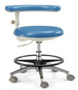 China Two Way Adjustable Armrest Assistant Dental Nurse Stool Height Adjustable on sale