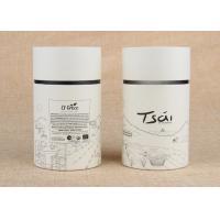 CMYK Printing Paper Tube Packaging , Underwear Cylinder Tube Packaging