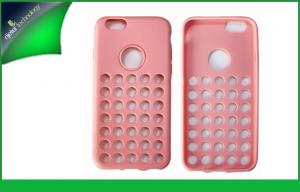 China Pink TPU Mobile Phone Protective Cases For Iphone 6 Scratch-proof on sale
