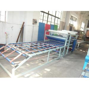 China Corrugated Wall Making Machine , Glue Spreading / Overlaying / Drying Straw Board Manufacturing Process Line on sale