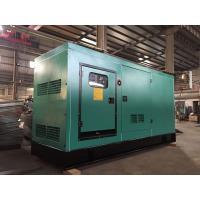 Standby Power Generator 188 KVA , 50Hz / 60Hz Silent Type Diesel Generator