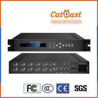 TV Broadcasting Head-end HP801D Enhanced H.264 FTA DVB-T2 Tuner Input Multiplexer