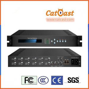 China TV Broadcasting Head-end HP801D Enhanced H.264 FTA DVB-T2 Tuner Input Multiplexer on sale