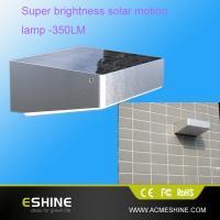 IP65 Waterproof and Weatherproof  1w LEDs Solar Motion Sensor Light Solar Lamp