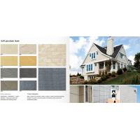 600300mm High Technology  Eco-Friendly Anti dropping  Clay cladding materials Flexible slate porcelain