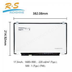 China 17.3 1600*900 edp LED Screen for HP laptop lcd panel B173RTN02.2 on sale