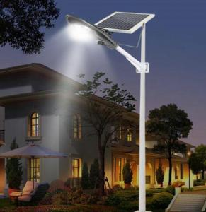 China Semi Integrated Solar Street Lights 20W Adjustable Bracket For Parking Area on sale