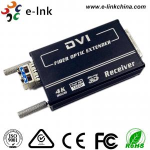 Quality Mini 4K * 2K DVI Fiber Transceiver SM10-80KM Default 1.4km , EDID Support, 1 SFP for sale