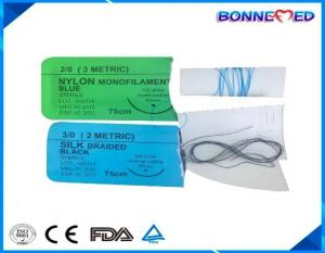 China BM-6101 High Quality Non-absorbable Surgical Suture With Needle Silk/Nylon/Polypropylene/Polyester/Stainless Steel on sale
