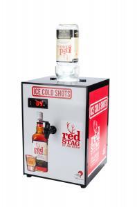 Quality Speedy Cooling Alcohol Shot Dispenser Low Noise 1800ml Inner Tank For Bars for sale