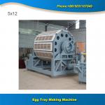 Paper recycling machine full automatic paper egg trays making machinenry
