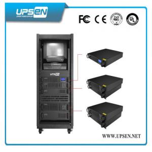 China Modular Rack Mount UPS Uninterrupted Power Supply with Pure Sine Wave , Low Noise on sale