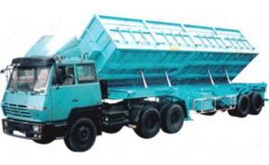 China HOWO TRAILER TIPPER on sale