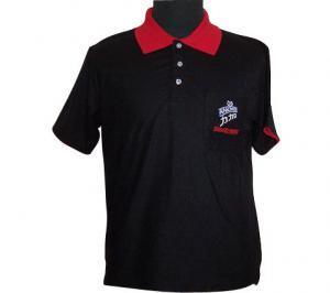 China Screen Printing Mens Short Sleeve Polo Shirts , Casual Men's Polo Neck Shirts on sale