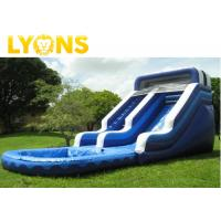 China Chateau Gonflable Large Inflatable Slide for Boys & Girls Logo Printed on sale