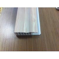 Laminate Flooring Skirting Board Trim , Decorative White Laminate Skirting Board Plastic