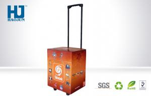 China POP Cardboard Recyclable Corrugated Paper Trolley box Light Duty on sale