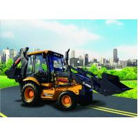 XCMG XT870 backhoe loader Low price hydraulic 1m3 bucket backhoe loader with CUMMINS engine