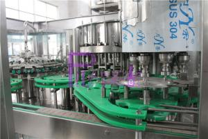 China 18 Head Automatic Juice Filling Machine Customized For Glass Bottles on sale