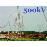 кольцо короны изоляторов башни передачи полимера 500kV облегченное двойное