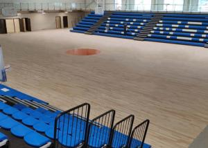 China Modular Grandstands Telescopic Seating Systems Fire Resistance For Sport Hall on sale
