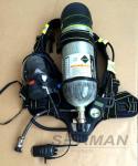 instrumento de respiração independente do ar 6.8L com o certificado do CE das comunicações & do microfone