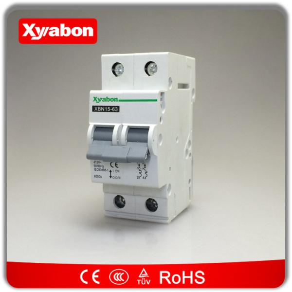 HAGER 20 AMP TYPE C 10 kA DOUBLE POLE MCB CIRCUIT BREAKER MC220 for ...