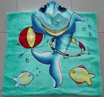 La más nueva toalla de playa impresa vendedora caliente del diseño 2015 aduana