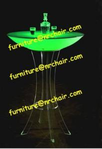 China led light cocktail table on sale