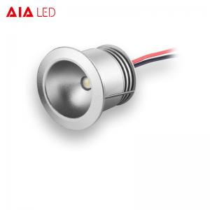 China 12V 1W mini recessed indoor LED dwonlight for furniture used on sale