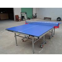 MDF Top And Edge Free New Design Single Folding Ping Pong Tables,Easy To Store Rackets And Balls.