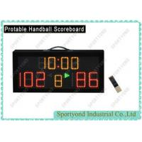 LED Protable Handball Scoreboard Display With IR Controller and Time Display