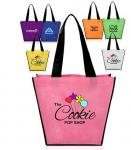 Full Color Printing Logo Eco Promotion Corporate Custom Tote Shopping Non Woven Bag Eco friendly Biodegradable Compostab