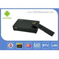 Amlogic S805 DVB Combo Receiver WiFi , 3G , XBMC /  Android Smart IPTV Box