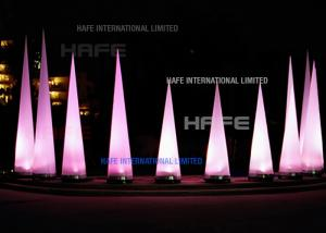 China High Brightness Cone Inflatable Event Decoration Lighting Integrated High Power 200 W LED on sale