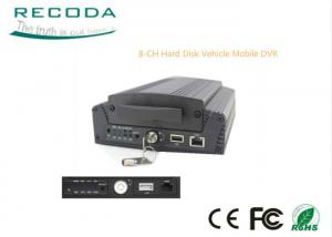 China 8 Channel 3G Mobile DVR Linux OS 3G / 4G GPS WIFI Live View GPS Tracking Support on sale